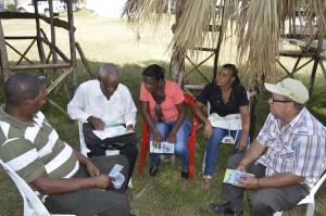 Grupo de Trabajo taller de Socialización proyecto AFORTERA.