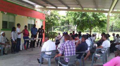 Técnico en Medioambiente realiza voluntariado de desarrollo rural en Hondo Valle