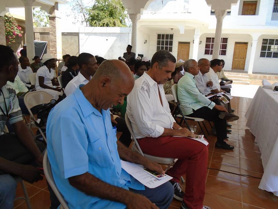 Algunas autoridades dominicanas presentes en el encuentro