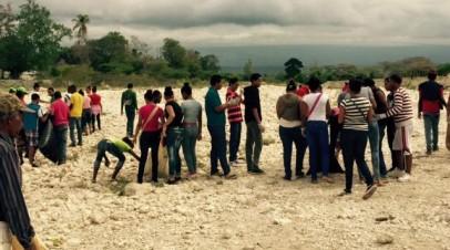 Realizan 2da jornada de limpieza del río Pedernales