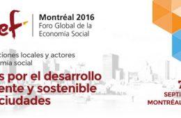 Más de 35 países del mundo presentarán sus iniciativas en el Foro  de Economía Social 2016